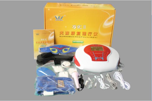 家用医疗 >>万优2光波康复理疗仪  6,数码技术:采用高科技数字电路,微